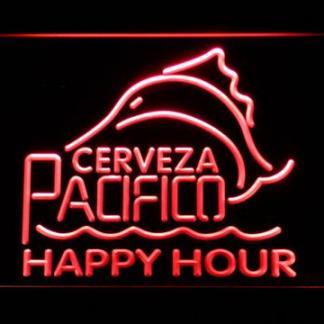Cerveza Pacifico Happy Hour neon sign LED