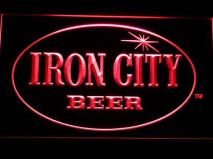 Iron City neon sign LED