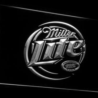 Miller Lite neon sign LED