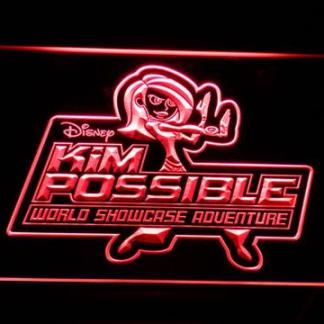 Kim Possible neon sign LED