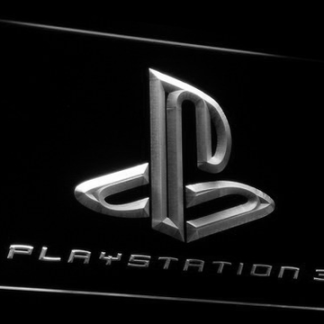 PlayStation PS3 neon sign LED