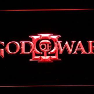 God of War 3 neon sign LED