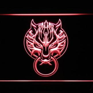 Final Fantasy VII Fenrir neon sign LED