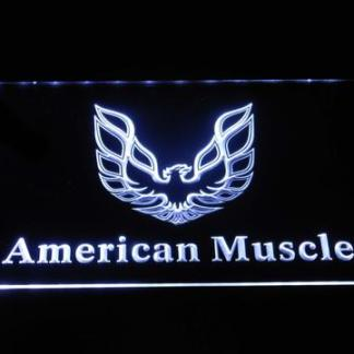American Muscle Eagle Logo neon sign LED