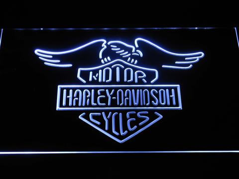 Harley Davidson Wings Neon Sign LED Sign Shop Whats Your - Car sign with wings