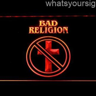 Bad Religion neon sign LED