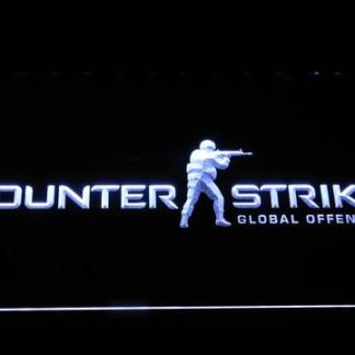 Counter-Strike neon sign LED