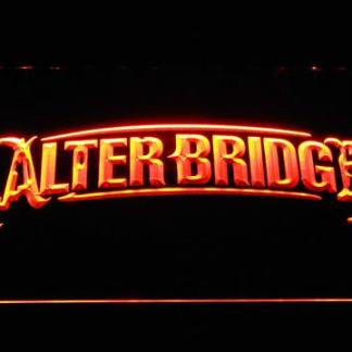 Alter Bridge neon sign LED