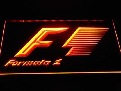 Formula 1 neon sign LED