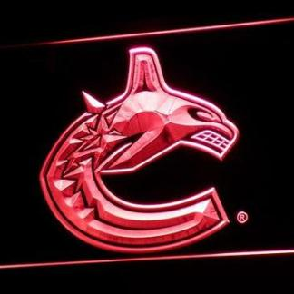 Vancouver Canucks neon sign LED