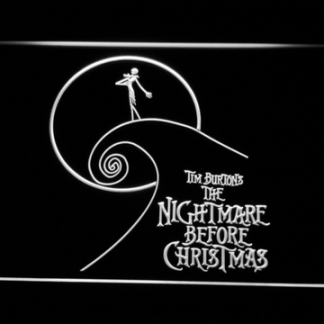 Nightmare Before Christmas Cliff neon sign LED