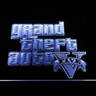 Grand Theft Auto Five neon sign LED