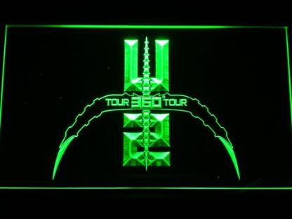 U2 360 Tour neon sign LED