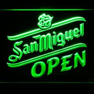San Miguel Open neon sign LED