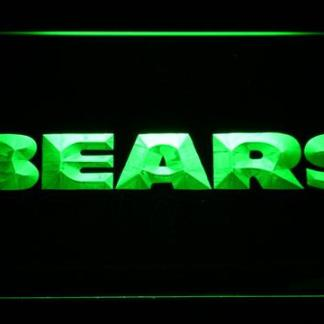 Chicago Bears Text neon sign LED