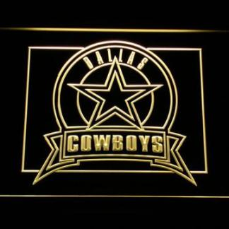 Dallas Cowboys Badge neon sign LED