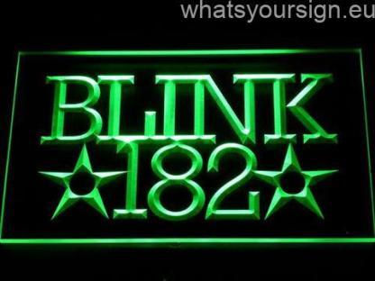 Blink 182 neon sign LED