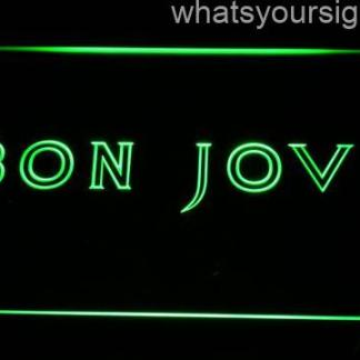 Bon Jovi neon sign LED