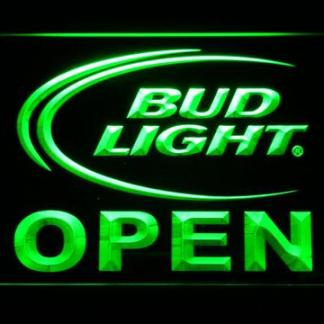 Bud Light Open neon sign LED