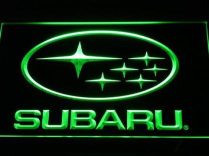 Subaru neon sign LED