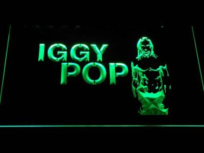 Iggy Pop neon sign LED
