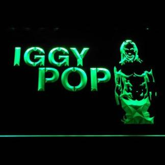 Iggy Pop neon sign LED