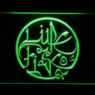 Lupe Fiasco neon sign LED