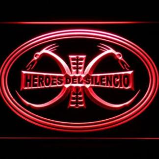 Heroes Del Silencio Dragons neon sign LED