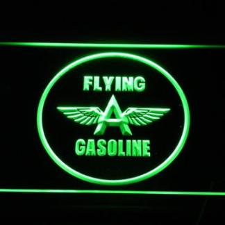 Flying A Gasoline neon sign LED