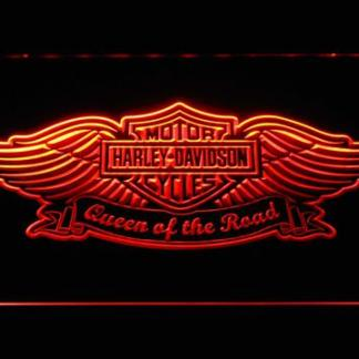 Harley Davidson Queen of the Road neon sign LED