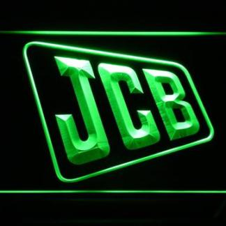 JCB neon sign LED