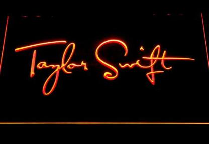 Taylor Swift neon sign LED