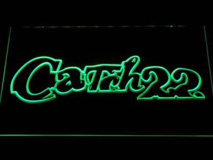 Catch 22 neon sign LED