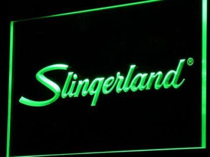 Slingerland neon sign LED