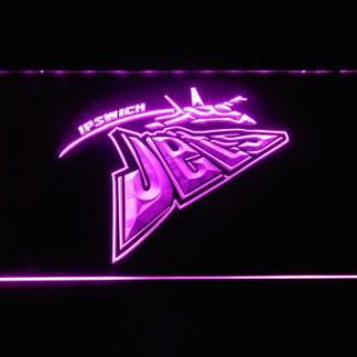 Ipswich Jets neon sign LED