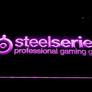 SteelSeries neon sign LED