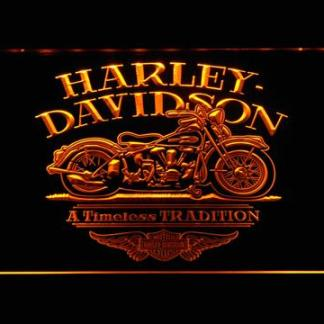 Harley Davidson Timeless Tradition neon sign LED