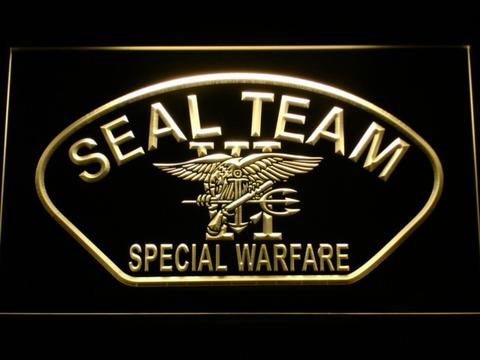 Us Navy Seal Team 6 Shell Neon Sign Led Sign Shop Whats
