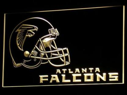 Atlanta Falcons Helmet neon sign LED