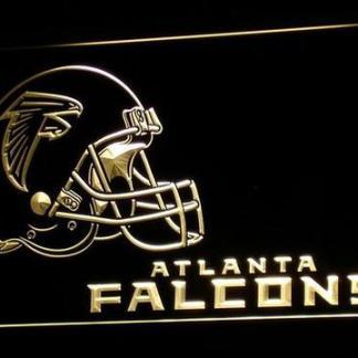 Atlanta Falcons Helmet neon sign LED