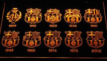 fc barcelona neymar logo neon sign led sign shop what s your