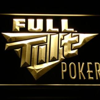 Full Tilt Poker neon sign LED