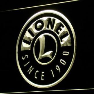 Lionel Trains neon sign LED