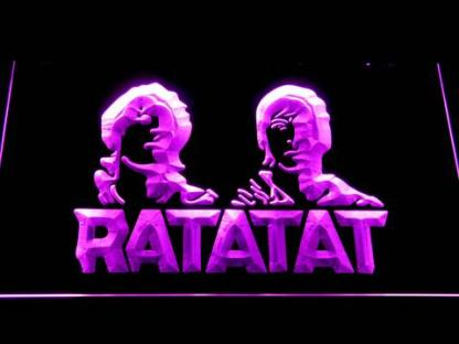 Ratatat neon sign LED