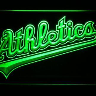 Oakland Athletics 2008-2010 Logo - Legacy Edition neon sign LED