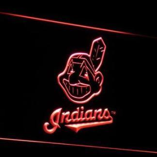 Cleveland Indians neon sign LED