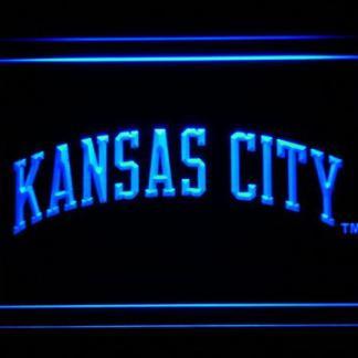 Kansas City Royals 2002-2005 Text - Legacy Edition neon sign LED
