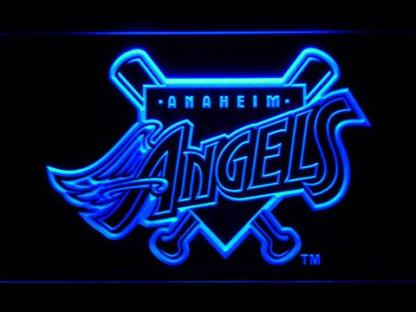 Los Angeles Angels of Anaheim 1997-2001 Home Plate Logo - Legacy Edition neon sign LED