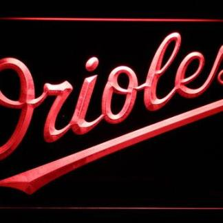 Baltimore Orioles 7 neon sign LED