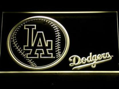 Los Angeles Dodgers Baseball neon sign LED